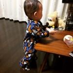 パジャマの赤ちゃん
